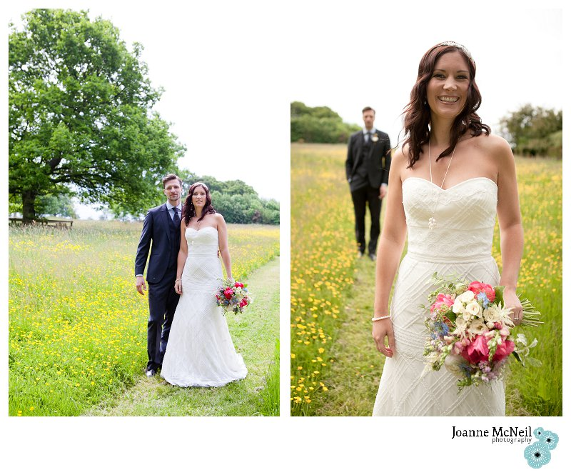 Themed Shoot JMP Bride & Groom Field